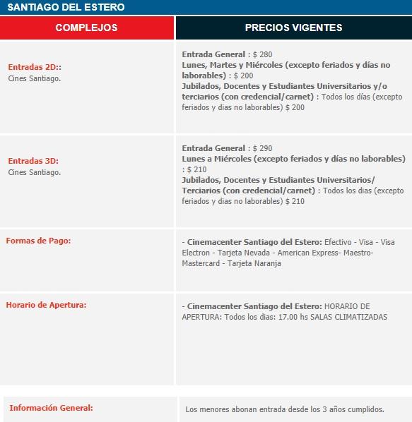 precios_Santiago del Estero
