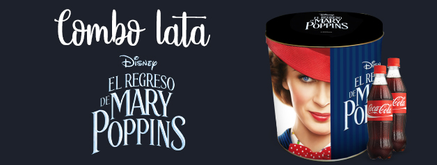 COMBO LATA MARY POPPINS