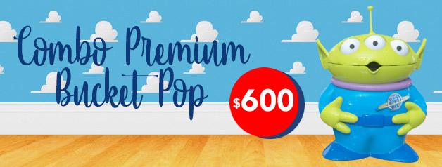 Combo Premium Bucket Pop TOY STORY 4
