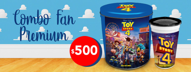 Combo Fan Premium TOY STORY 4