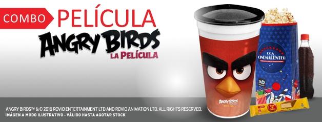 COMBO PELICULA ANGRY BIRDS