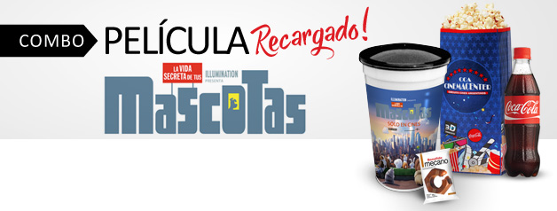COMBO PELICULA MASCOTAS