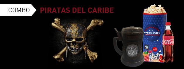 COMBO PREMIUM PIRATAS DEL CARIBE