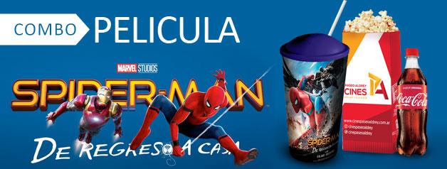 COMBO PELICULA SPIDERMAN 3D
