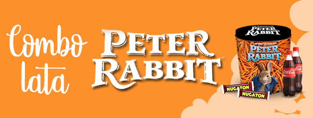 COMBO LATA PETER RABBIT