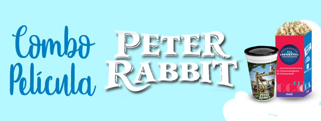 COMBO PELICULA PETER RABBIT