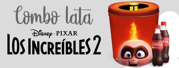 COMBO LATA LOS INCREIBLES 2