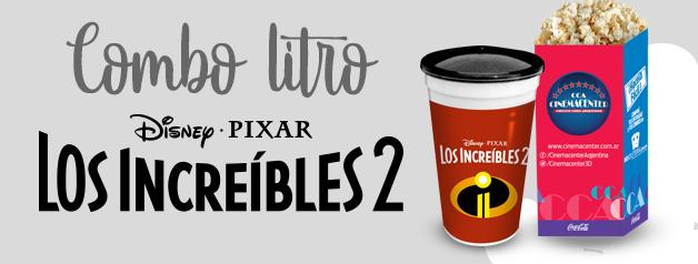 COMBO LITRO LOS INCREIBLES 2