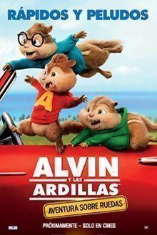 ALVIN Y LAS ARDILLAS 4: AVENTURAS SOBRE RUEDAS - 2D DIGITAL CAST