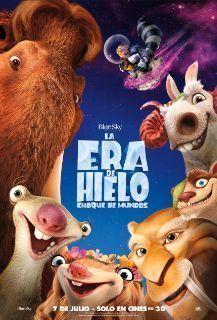 Poster de: LA ERA DE HIELO CHOQUE DE MUNDOS