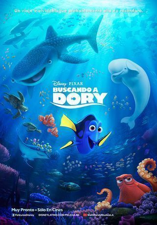 BUSCANDO A DORY - 2D DIGITAL CAST