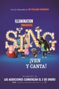 Poster de: SING: VEN Y CANTA