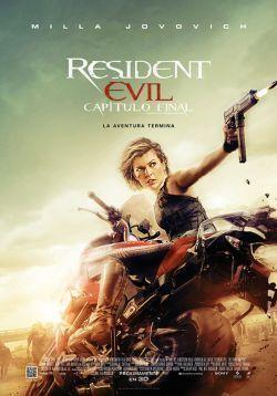 Poster de: RESIDENT EVIL: CAPÍTULO FINAL