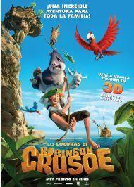 Poster de: LAS LOCURAS DE ROBINSON CRUSOE