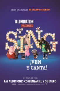 SING: VEN Y CANTA - 3D CAST