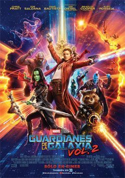 GUARDIANES DE LA GALAXIA VOL 2 - 3D CAST en Mar del Plata