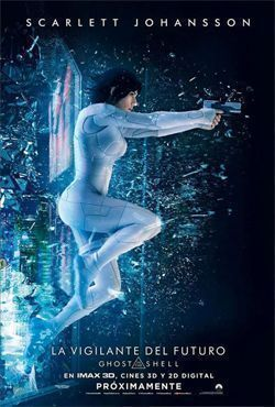 Poster de: LA VIGILANTE DEL FUTURO: GHOST IN THE SHELL