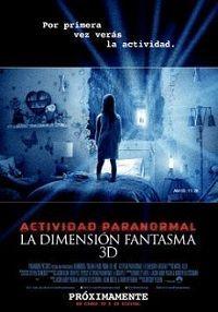 Poster de: ACTIVIDAD PARANORMAL LA DIMENSION FANTASMA