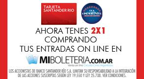 Banco Santander Río - Miboleteria.com.ar