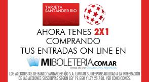 Banco Santander R�o - Miboleteria.com.ar