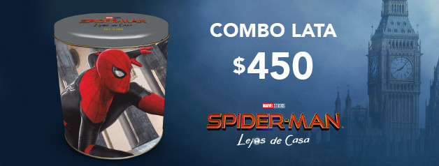 Combo Lata SPIDERMAN