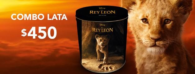 Combo Lata EL REY LEON