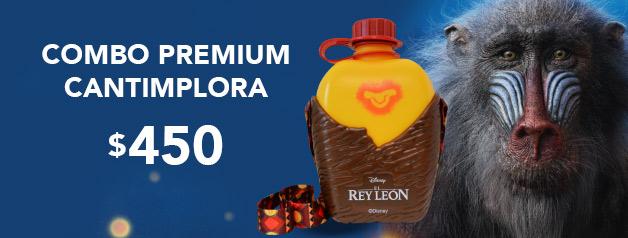 Combo Premium Cantimplora EL REY LEON