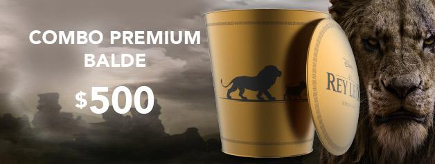 Combo Premium Bucket EL REY LEON