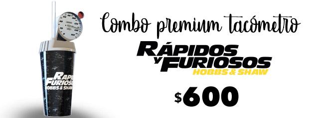 Combo Premium Tacómetro HOBBS Y SHAW