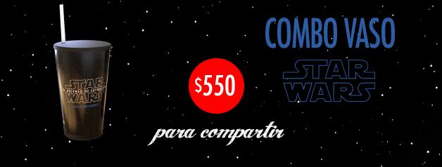 Combo Vaso Glow Star Wars