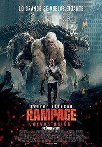 Poster de: RAMPAGE: DEVASTACION