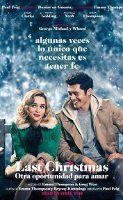 LAST CHRISTMAS: OTRA OPORTUNIDAD PARA AMAR en la cartelera de cine de Mar del Plata