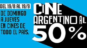 CINE ARGENTINO 50%