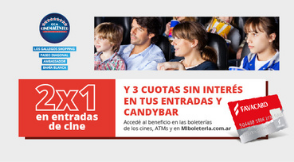 Beneficio 2x1 Favacard